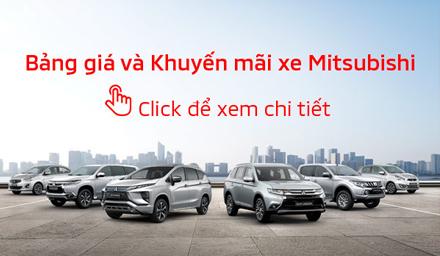 Bảng giá xe Mitsubishi tháng 04/2019