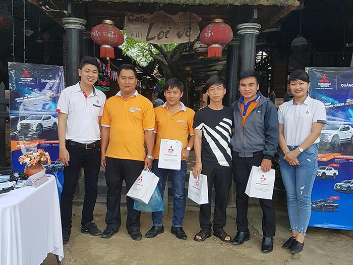 Mitsubishi Quảng Ngãi tổ chức lái thử xe tại Thị trấn Đức Phổ, huyện Đức Phổ, tỉnh Quảng Ngãi