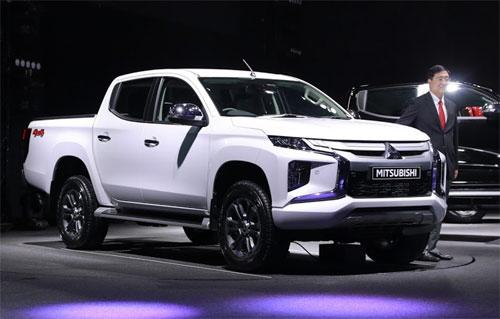 Mitsubishi Triton mới lột xác thiết kế, về Việt Nam nửa đầu 2019
