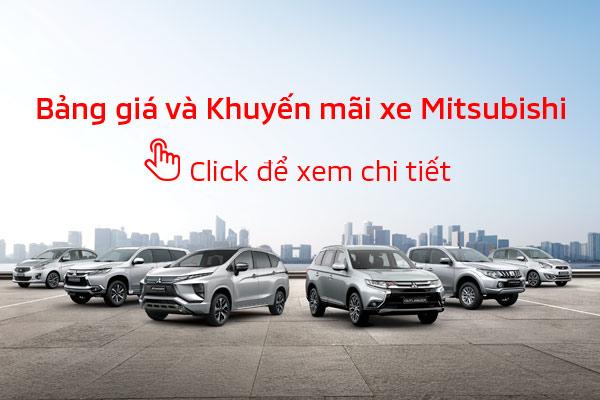 Bảng giá xe Mitsubishi tháng 02/2019